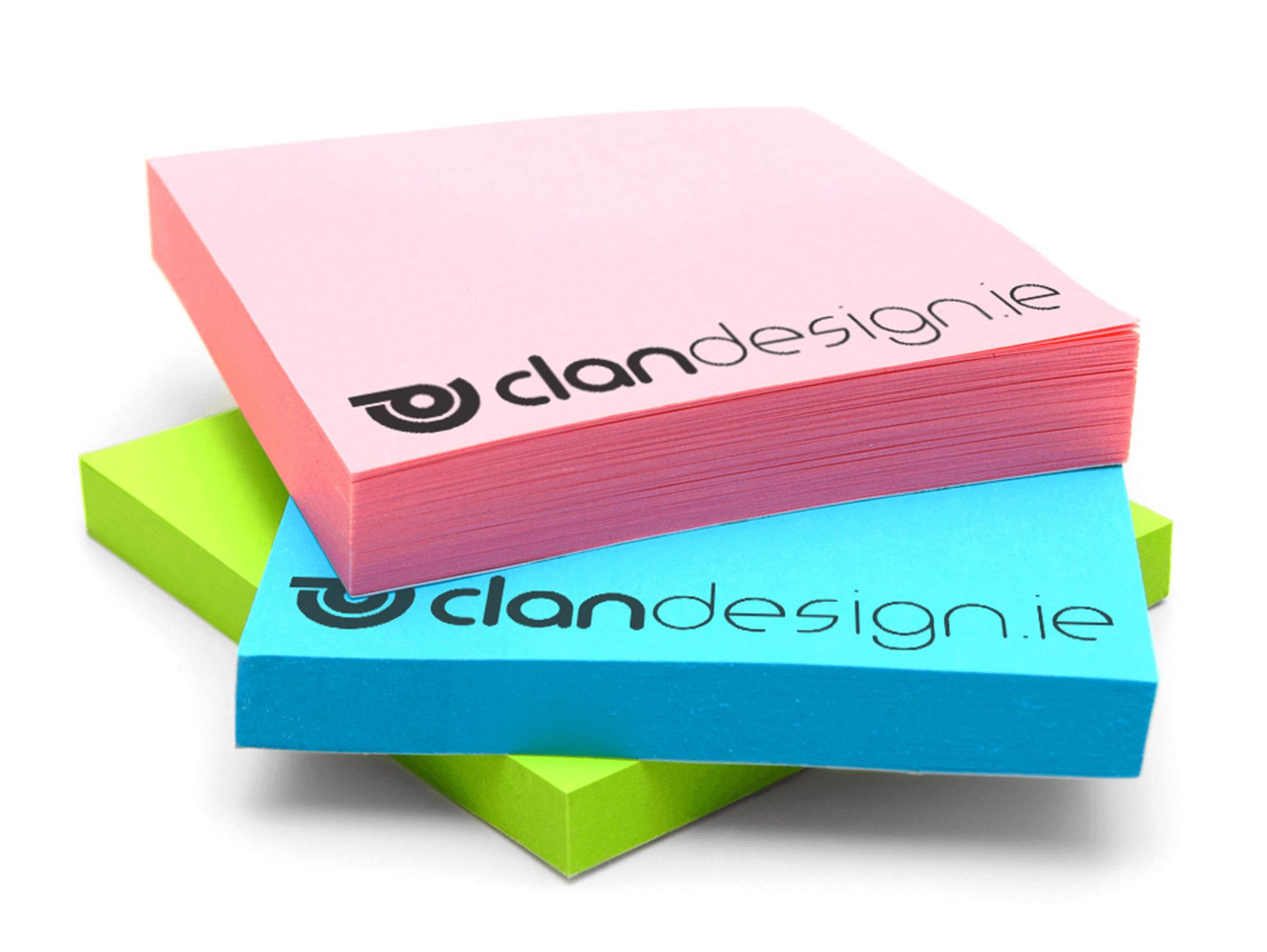 Sticky Notes - Branded Stickers