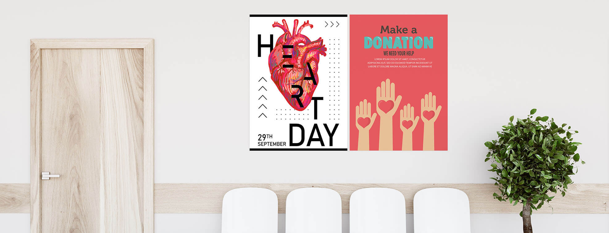 poster as an element of commercial printing