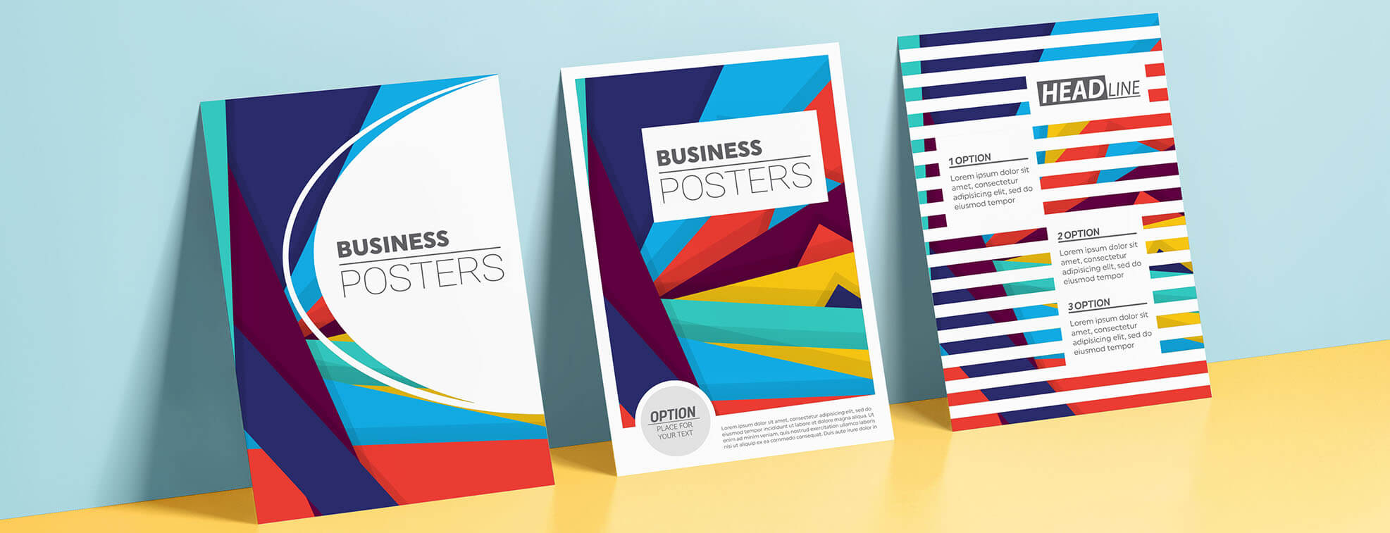 creating corporate flyers with commercial printing